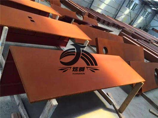 珠海景墙耐候钢板做旧: 市场整体相对疲弱厂家现货市场价格较为平静
